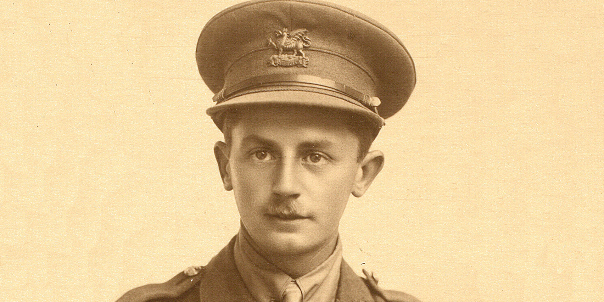 Lieutenant Bernard Ellis, The Buffs (East Kent Regiment), c1918