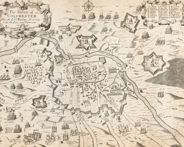 The Siege of Colchester by Lord Fairfax, 1648