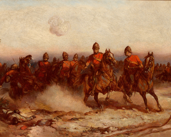 4th (Royal Irish) Dragoon Guards in Egypt, 1882