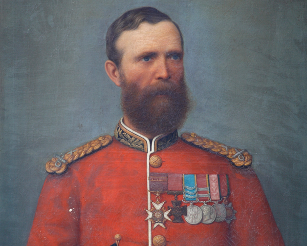 Brevet Major Mark Walker VC, c1860