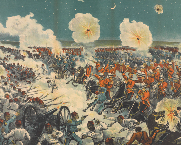 The 'Moonlight Charge' by the Household Cavalry at Kassassin, 1882