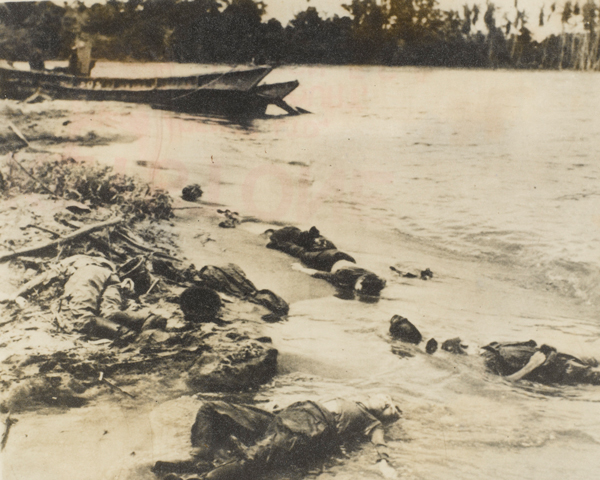 Japanese casualties of the Battle of Buna-Gona, 1943
