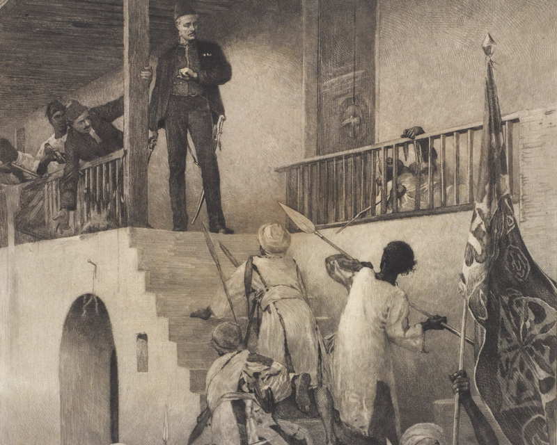 The death of General Charles Gordon, 25 January 1885