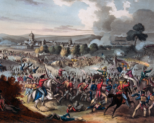 The Battle of Vitoria, 1813