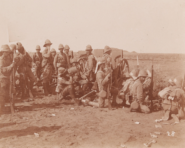 1st Battalion, The Lincolnshire Regiment, at Omdurman, 1898
