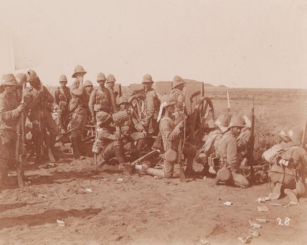 1st Battalion, The Lincolnshire Regiment, at Omdurman, 1898