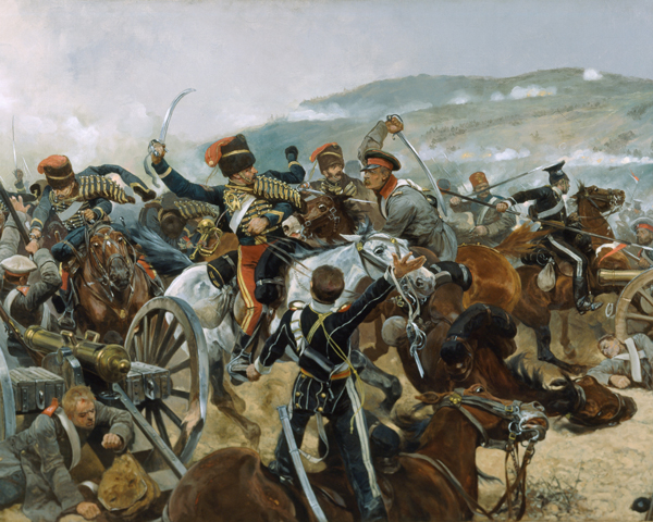 The Charge of the Light Brigade, 25 October 1854