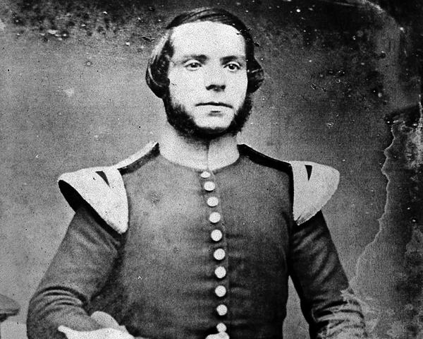Hospital Sergeant Frederick Newman, 1854