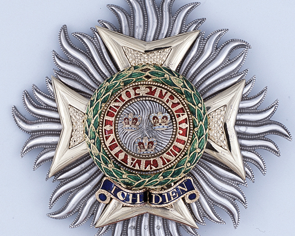 Order of the Bath, Star of a Knight Grand Cross awarded to Major-General Sir Colin Campbell, 1855