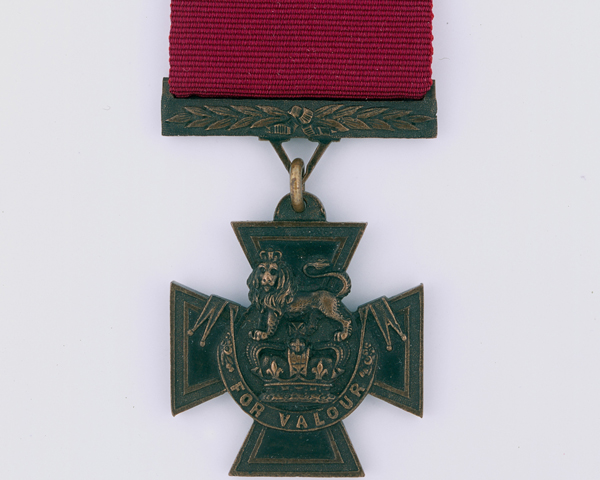 Victoria Cross awarded to Lieutenant Mark Walker for his gallantry at Inkerman, 1854