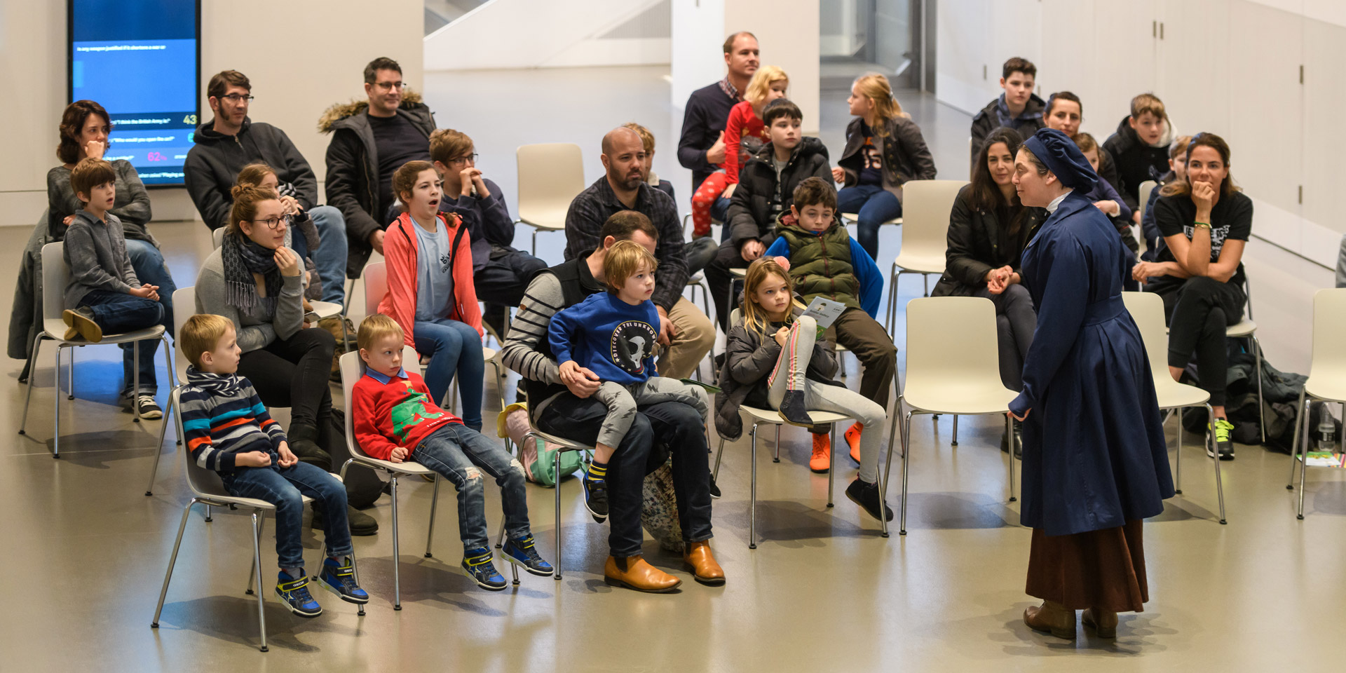 Storytelling session at the National Army Museum