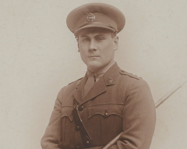 Captain Daniel Hickey, 8th Battalion, Tank Corps, c1918