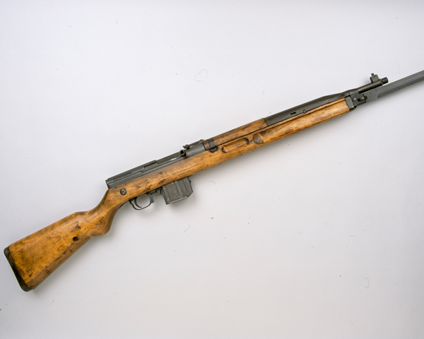 VZ52 7.62mm self-loading rifle used by the Egyptian Army at Suez, 1956