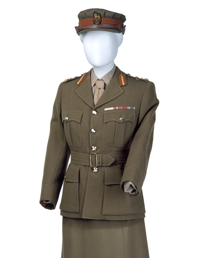 Princess Elizabeth's Women's Royal Army Corps uniform, c1949