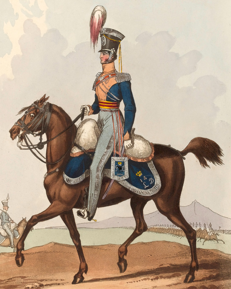 An officer of the 14th Light Dragoons, c1820