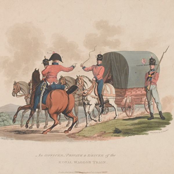 Men of the Royal Waggon Train, 1812
