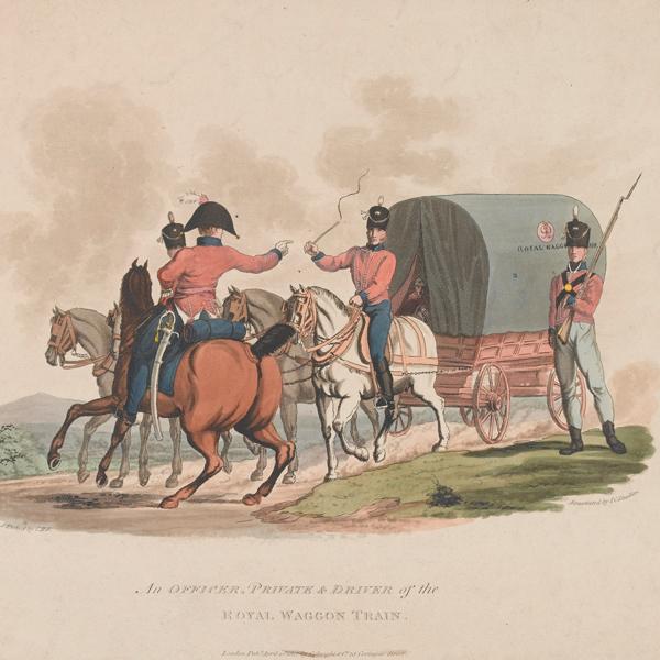 Men of the Royal Waggon Train, 1812