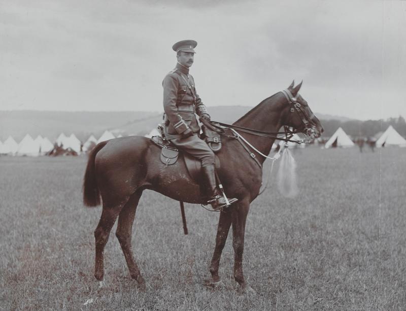 Major A W Parsons, 19th (Queen Alexandra's) Hussars, c1908