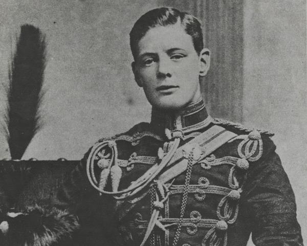 Second Lieutenant Winston Churchill, 4th Queen's Own Hussars, 1895