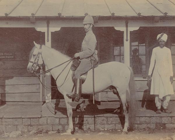 Colonel A M Paterson, commander 1st Bedfordshire Regiment, 1894