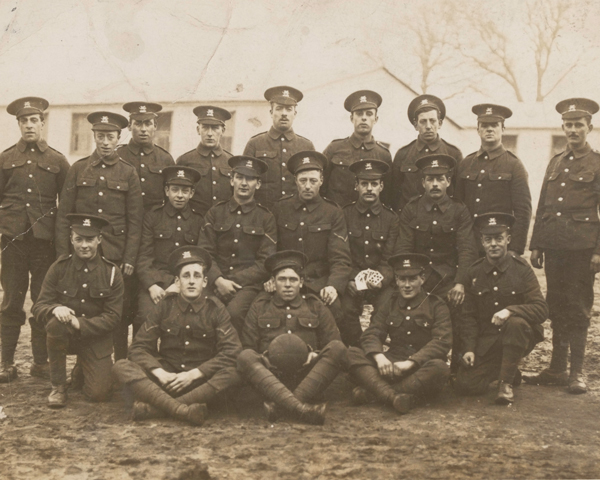 Soldiers from 7th Battalion The Buffs (East Kent Regiment), 1916