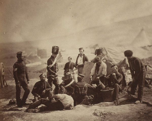 Cooking house of the 8th (The King's Royal Irish) Light Dragoons (Hussars), c1855