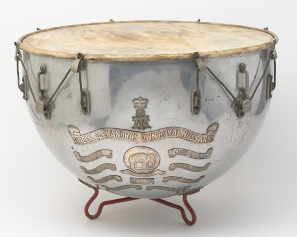 Kettledrum, 19th (Alexandra Princess of Wales's Own) Hussars, 1909