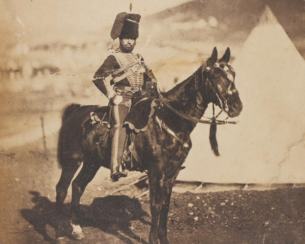 Cornet Henry Wilkin, 11th (Prince Albert's Own) Hussars, 1855