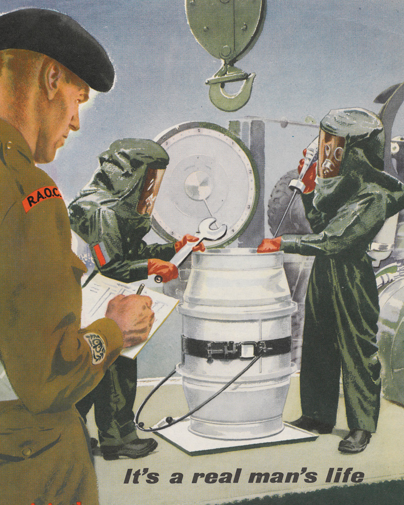 Royal Army Ordnance Corps recruitment poster, c1960