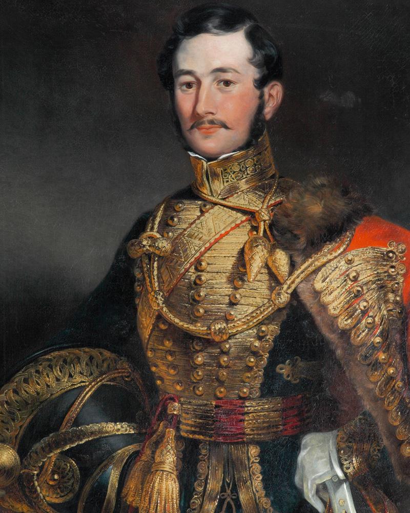 Captain Farquharson, 7th Queen's Own Hussars, 1836
