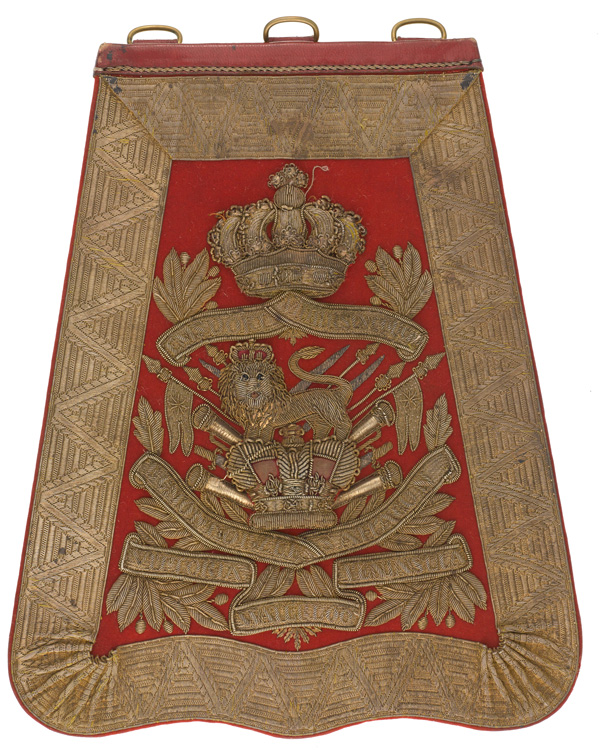 Sabretache, 15th (King's) Hussars, c1895