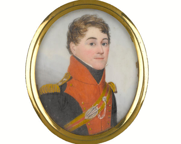 Colonel Thomas Hawker, 20th Light Dragoons, 1818