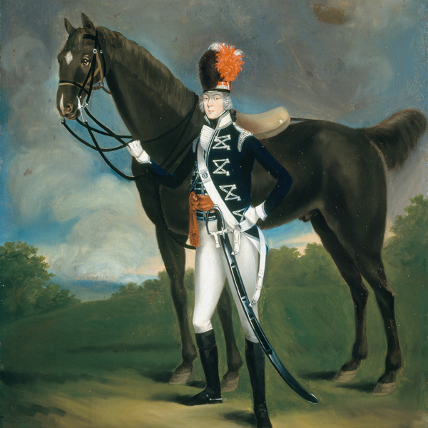 Officer of the 7th (The Queen's Own) Regiment of Light Dragoons, 1793