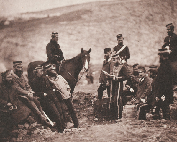 Officers and men of the 8th (The King's Royal Irish) Light Dragoons (Hussars), 1855