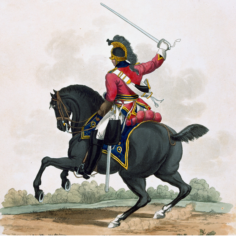 A member of the 3rd (or King's Own) Dragoons, 1812