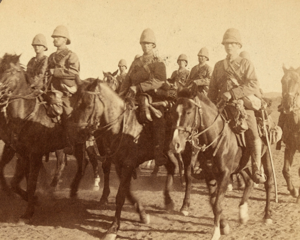 10th (Prince of Wales's Own Royal) Hussars at Colesberg, South Africa, 1900