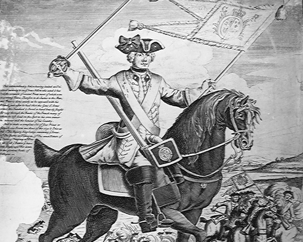 'Thomas Brown the Valiant Dragoon', 1743