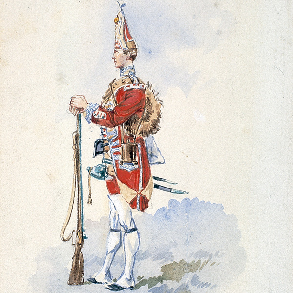 Grenadier of the 3rd Regiment of Foot, 1751