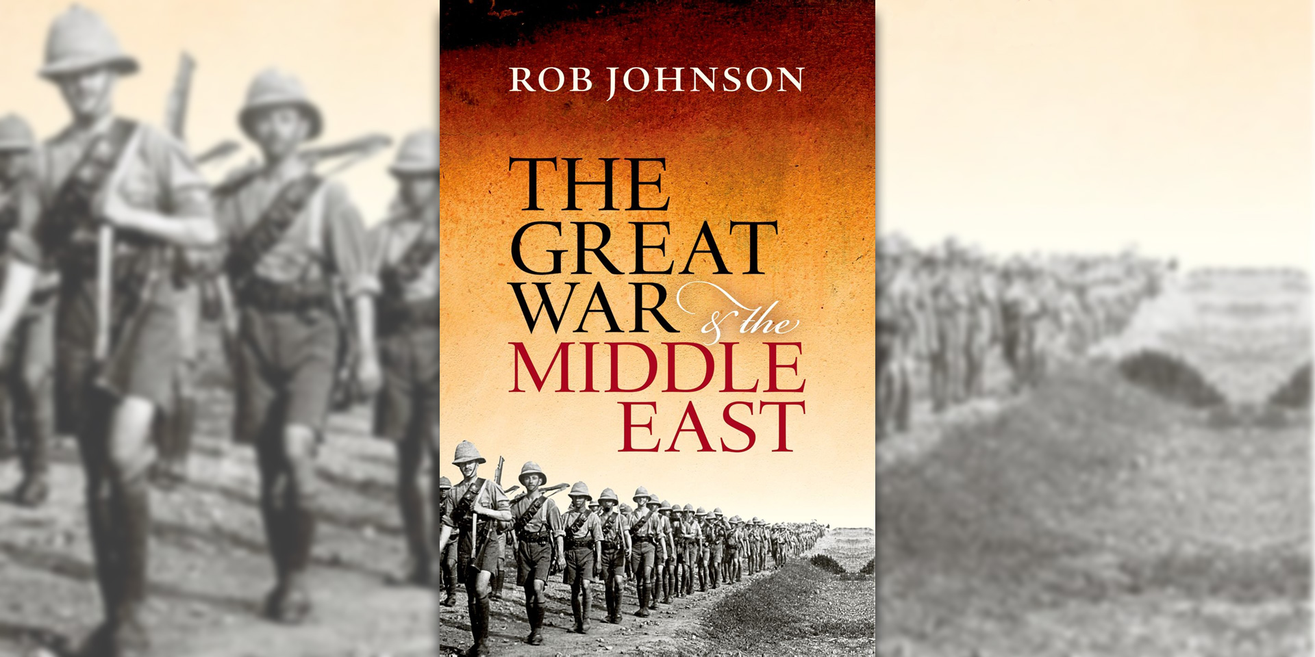 'The Great War and the Middle East' book cover