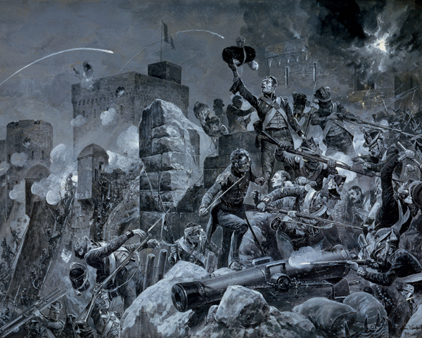 The 88th (Connaught Rangers) Regiment at Badajoz, 1812