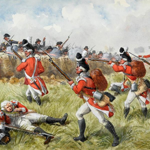 Battle of Bunker Hill, 1775