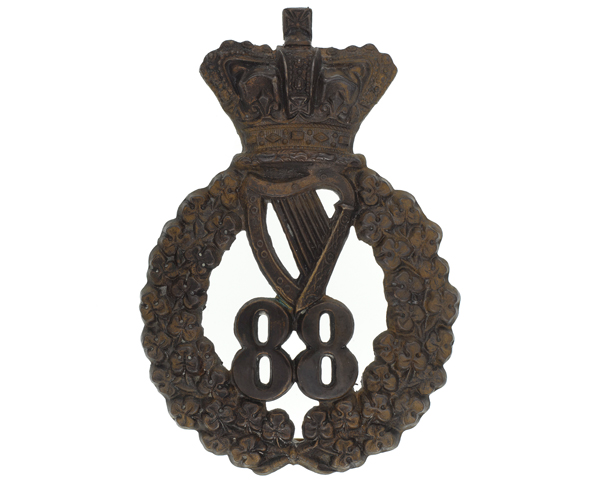 Glengarry badge, 88th Regiment of Foot (Connaught Rangers), c1873