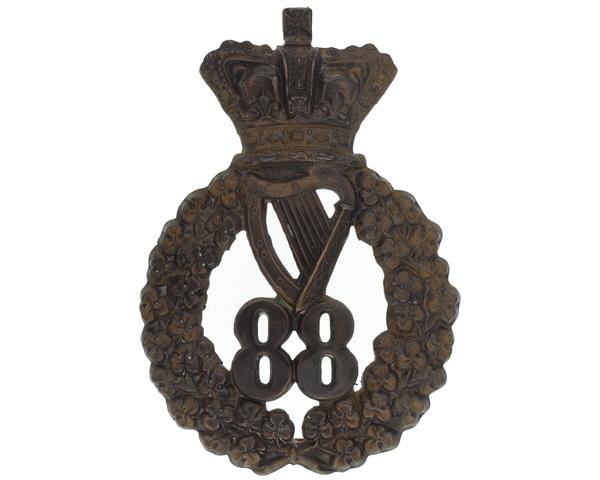 Glengarry badge, 88th Regiment of Foot (Connaught Rangers), c1873