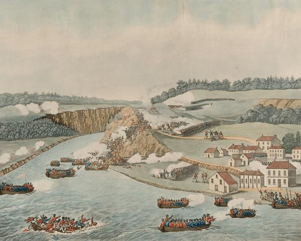 The Battle of Queenston, 1813