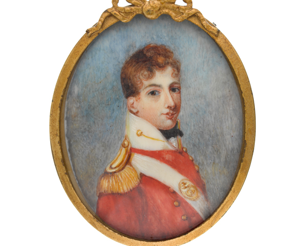 Lieutenant Peter Mosse, 80th Regiment of Foot, c1810