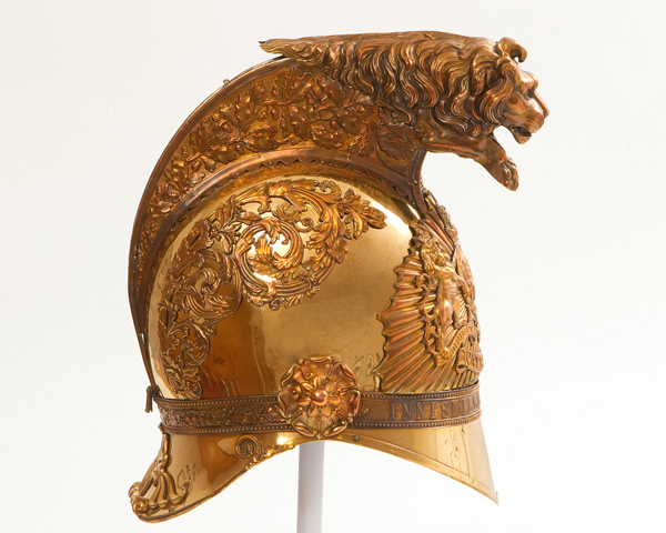 Officers' helmet, 6th (Inniskilling) Dragoons, c1840