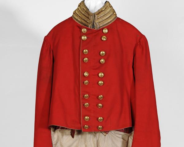 Dress coatee, 73rd Regiment of Foot, c1815