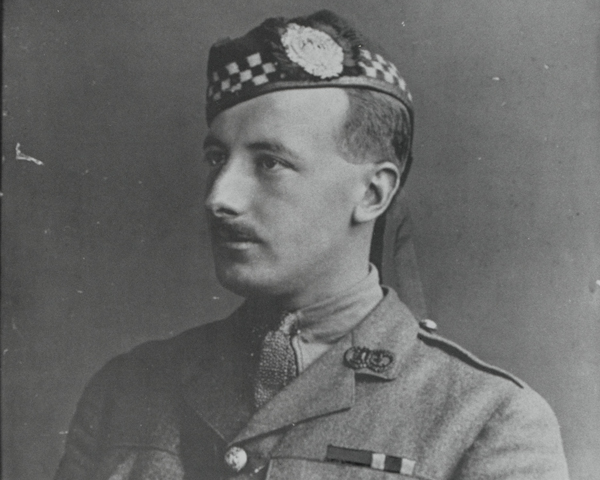 Captain Arthur Henderson VC, 2nd Battalion, The Argyll and Sutherland Highlanders, 1915