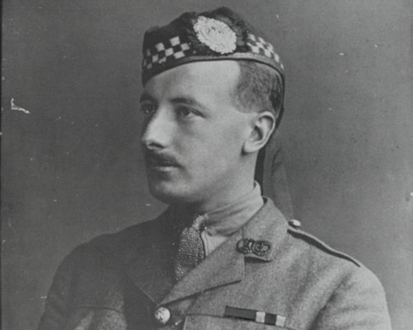Captain Arthur Henderson VC, 2nd Battalion, The Argyll and Sutherland Highlanders, 1915