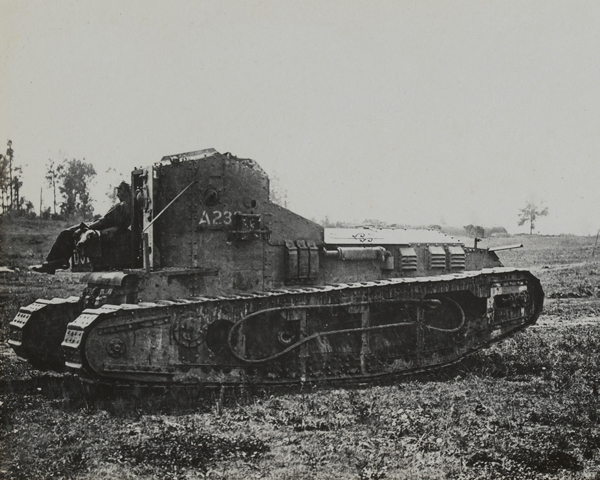 Whippet light tank, 1918